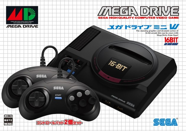Megadrive mini japon